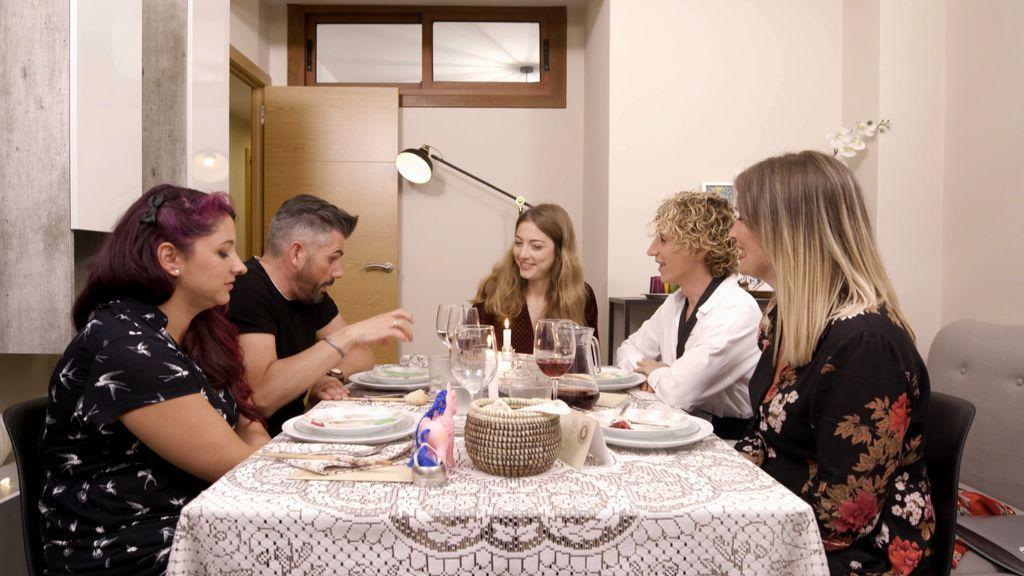 Cena de Cristina en 'Ven a cenar conmigo', Galicia.