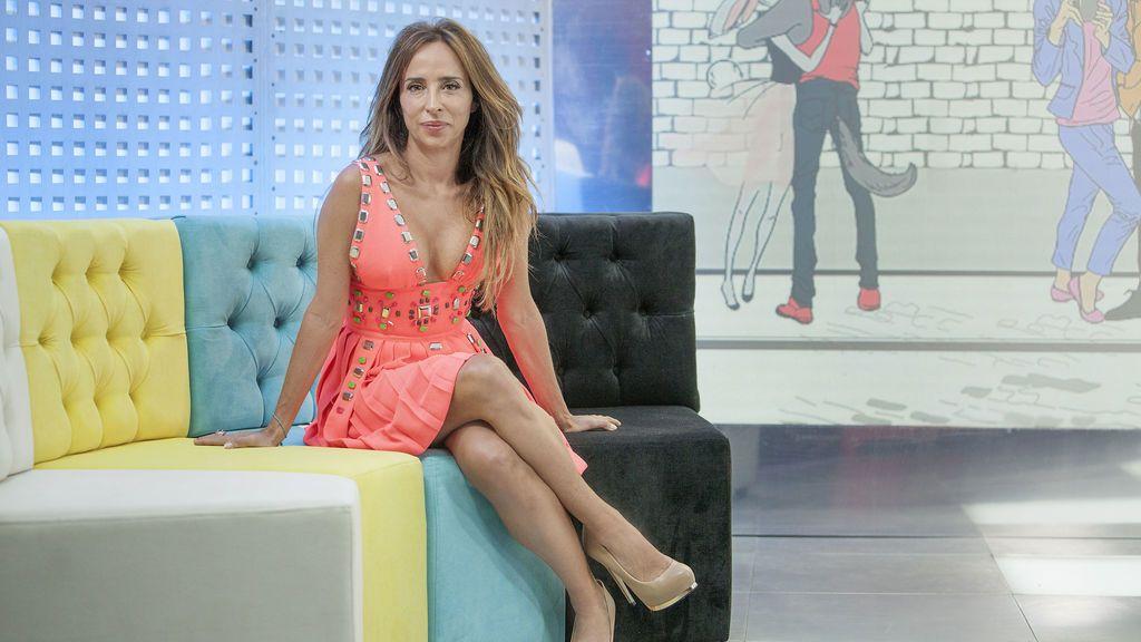 María Patiño, presentadora de 'Socialité by Cazamariposas'.