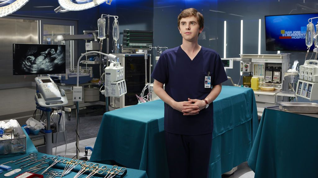 Freddie Highmore, protagonista de 'The good doctor'.