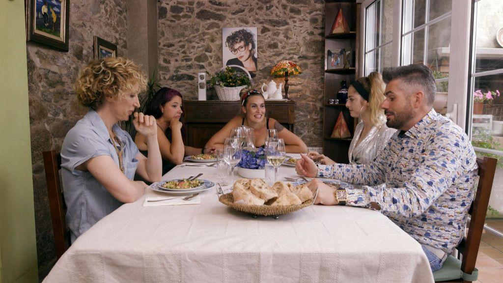 Cena de María en 'Ven a cenar conmigo', Galicia.