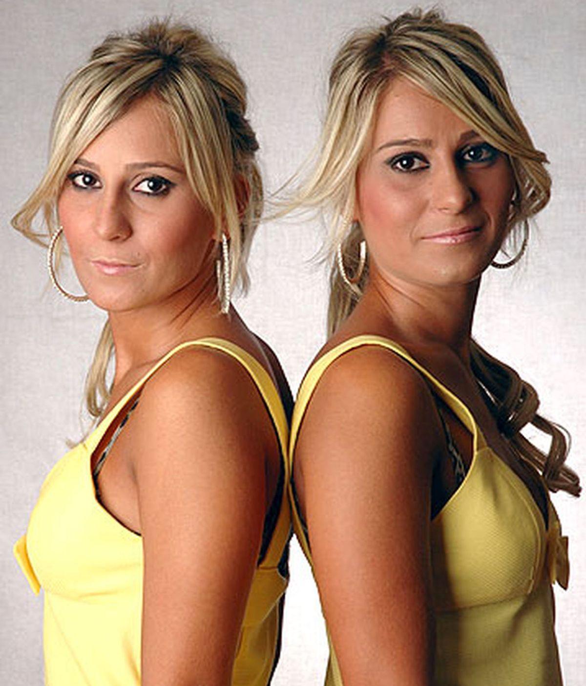Conchi y Pamela, las gemelas de 'GH 9', discuten por el maquillaje en una conversación ficticia de WhatsApp