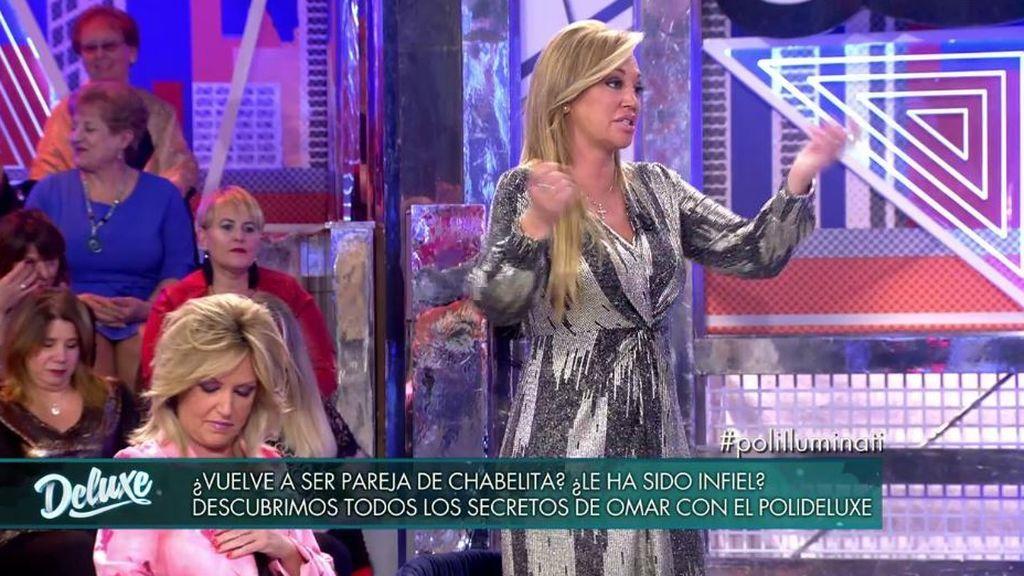 """El enfado de Belén Esteban con Omar, nada más llegar: """"Ojalá no te haga falta el dinero"""""""