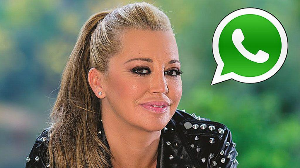 Las colaboradoras de 'Sálvame' la lían en un grupo ficticio de WhatsApp sobre la despedida de soltera de Belén Esteban
