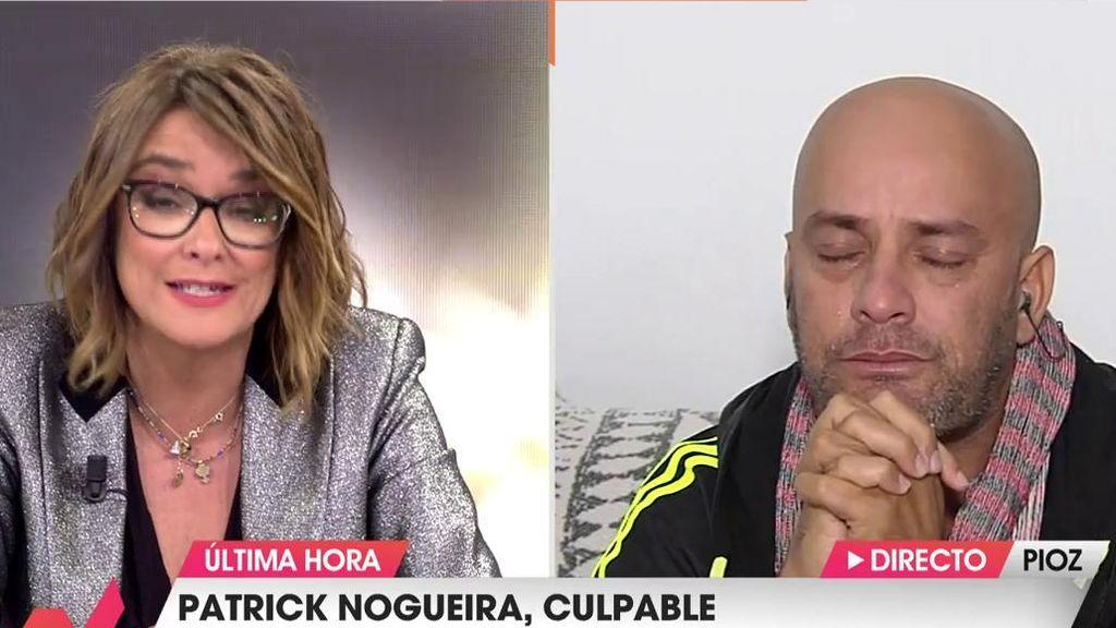 El tío del asesino de Pioz, satisfecho con el veredicto: se emociona al hablar con Toñi