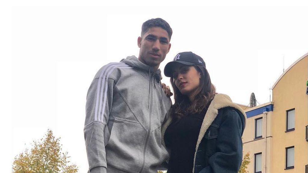 La tierna felicitación de cumpleaños de Hiba Abouk a su pareja Achraf Hakimi