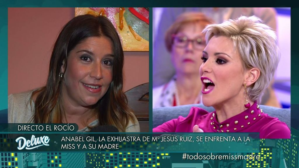 """María Jesús Ruiz estalla contra Anabel Gil: """"Tú no interesas"""""""
