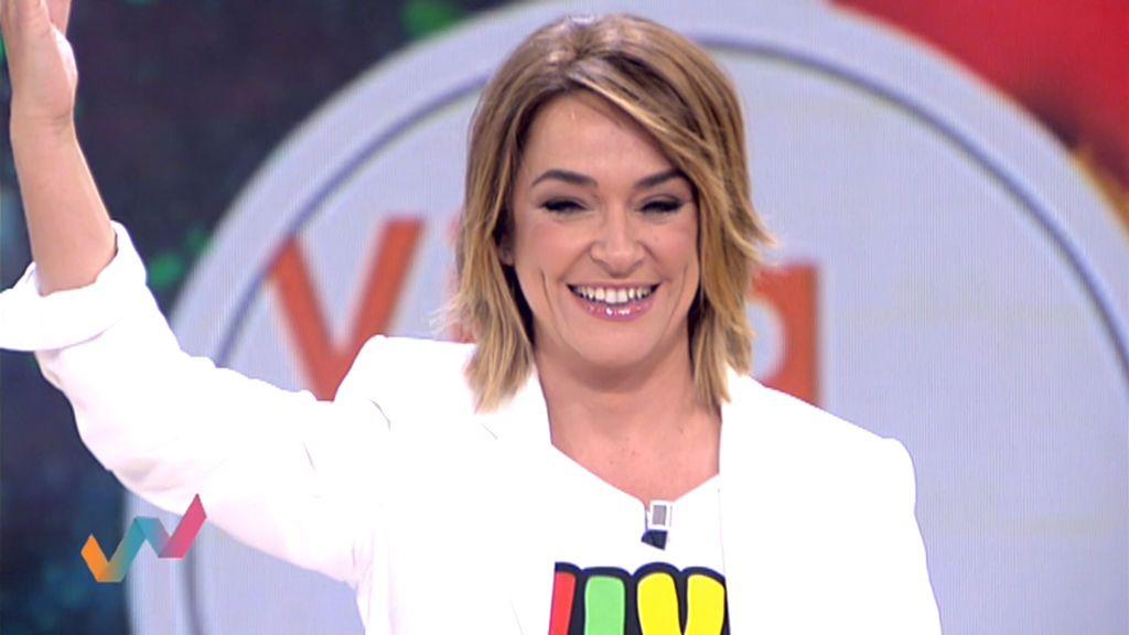 Los primeros minutos de Toñi Moreno como presentadora de 'Viva la vida'