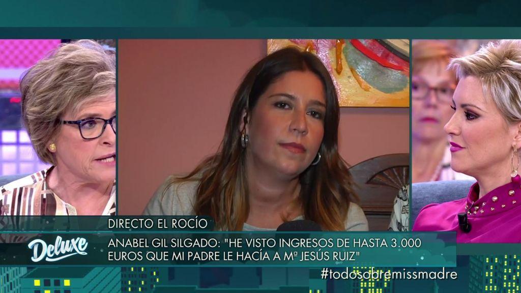 "Anabel Gil: ""Mi padre le ingresaba como mínimo 3.000 euros a María Jesús"""