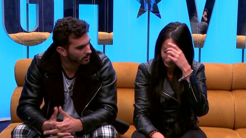 """El vídeo de la ruptura entre Suso y Aurah: """"Tú haz tu concurso que yo haré el mío"""""""