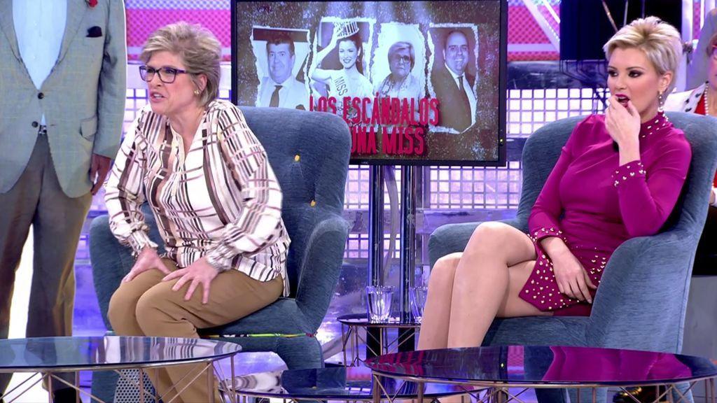María Jesús Ruiz y su madre rompen su silencio sobre el supuesto tongo en Miss España