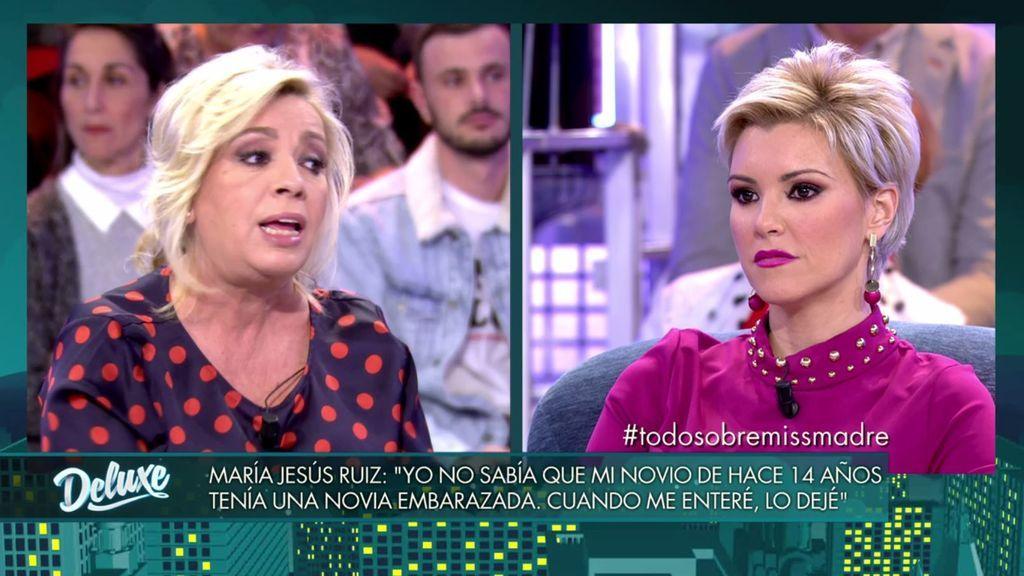 """Carmen, sobre la relación de Mª Jesús y el jefe de prensa de Miss España: """"Cuando te dejó de interesar lo dejaste"""""""