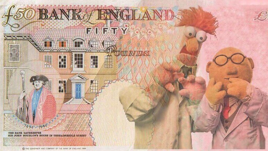 Las redes se inundan de memes sobre la nueva cara del billete de £50 en Inglaterra