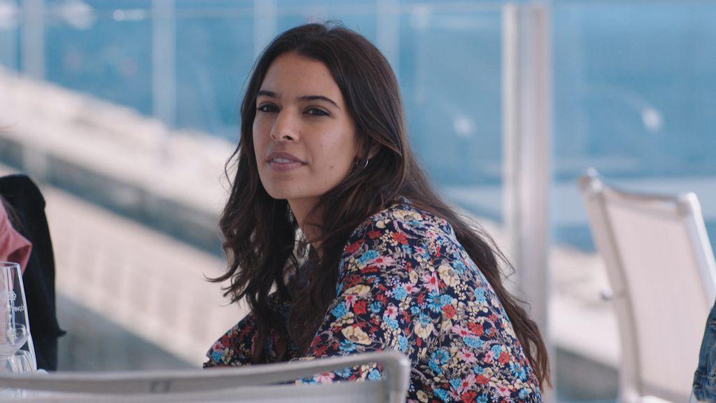 Lara Balarés, en el séptimo capítulo de 'Vivir sin permiso'.