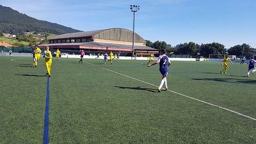 Desolación por el fallecimiento repentino de un jugador infantil del Villa de Pravia