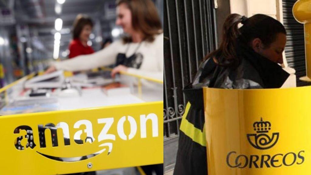 Llegan las fechas de mayor consumo y Amazon y Correos convocan huelga