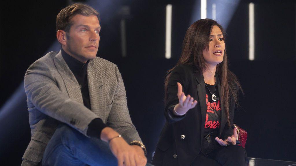 Darek y Miriam Saavedra, concursantes de 'GH VIP 6'.