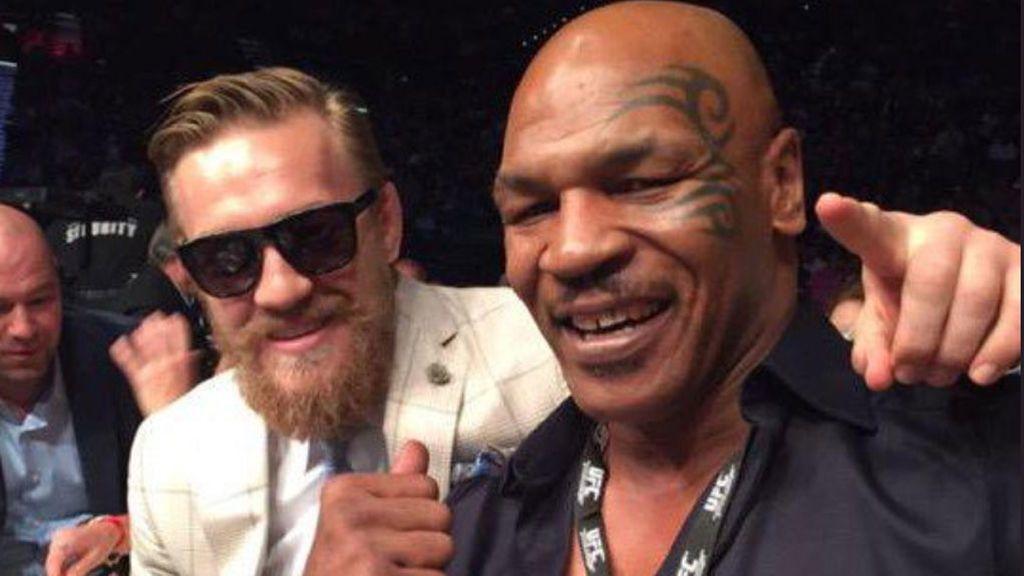 Con Whisky y marihuana: McGregor y Tyson comparten 'risitas' en California