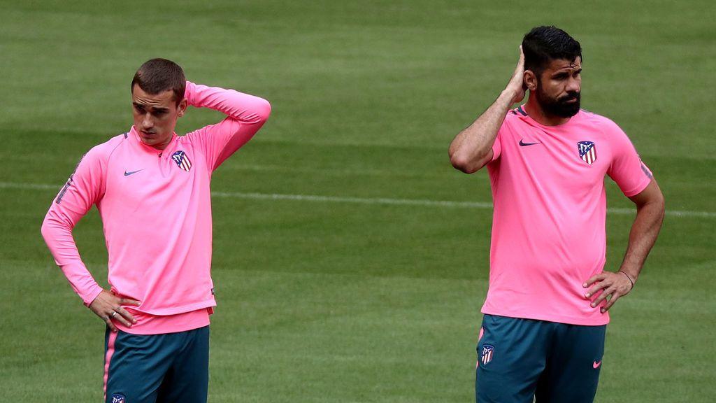 Los números apuntan a Griezmann y Costa como responsables de la peor racha goleadora del Atleti en la 'era Simeone'