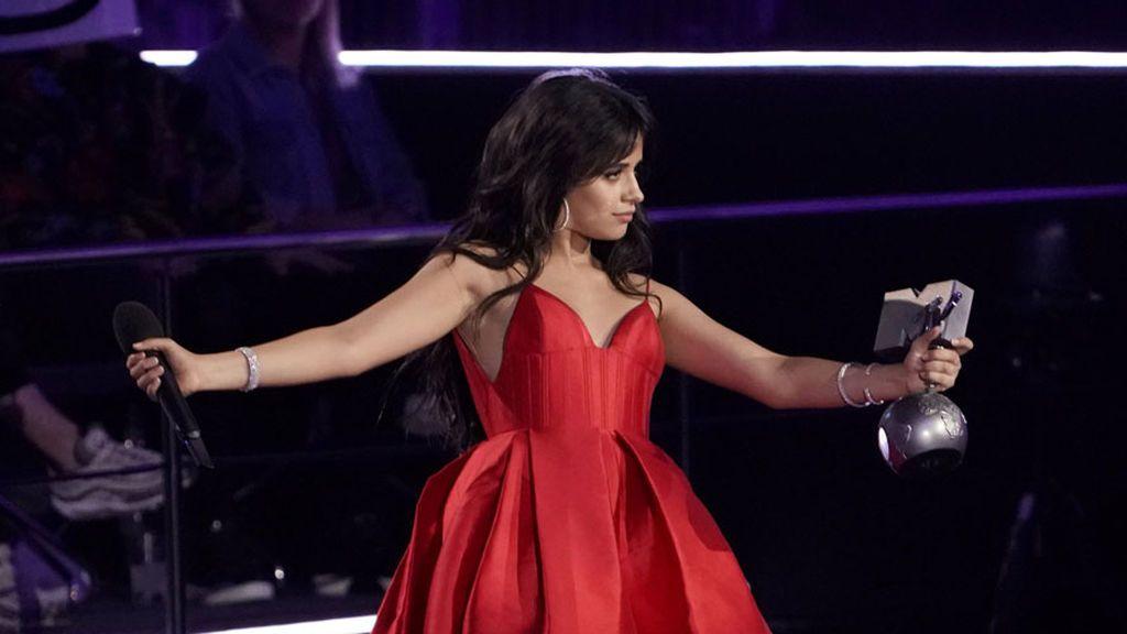 La gala de los premios MTV hace vibrar a Bilbao:  Camila Cabello se llevó cuatro estatuillas
