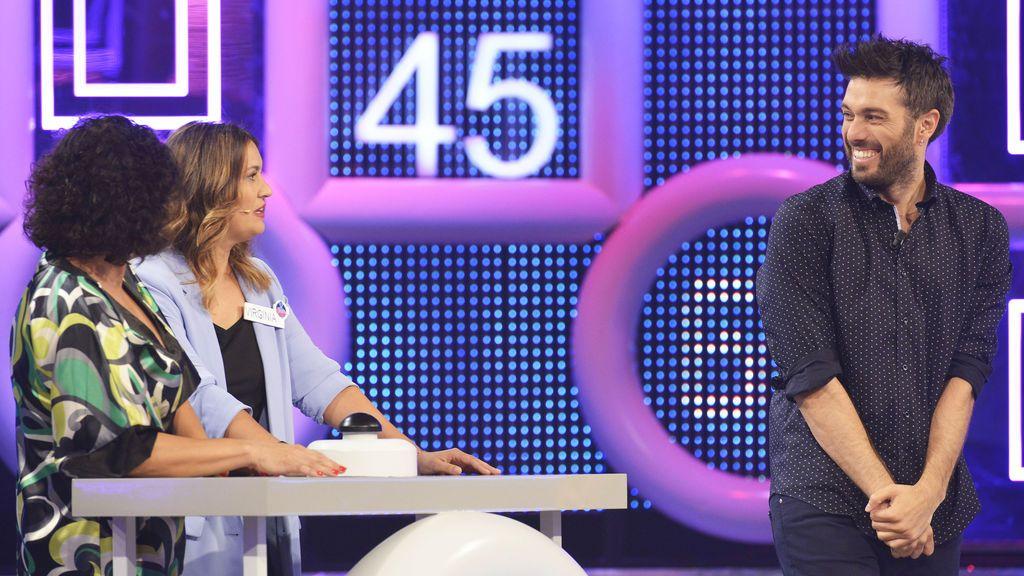 Dani Martínez, presentador de 'El concurso del año'.