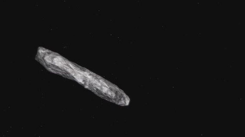El primer asteoroide interestelar que ha fascinado a los científicos