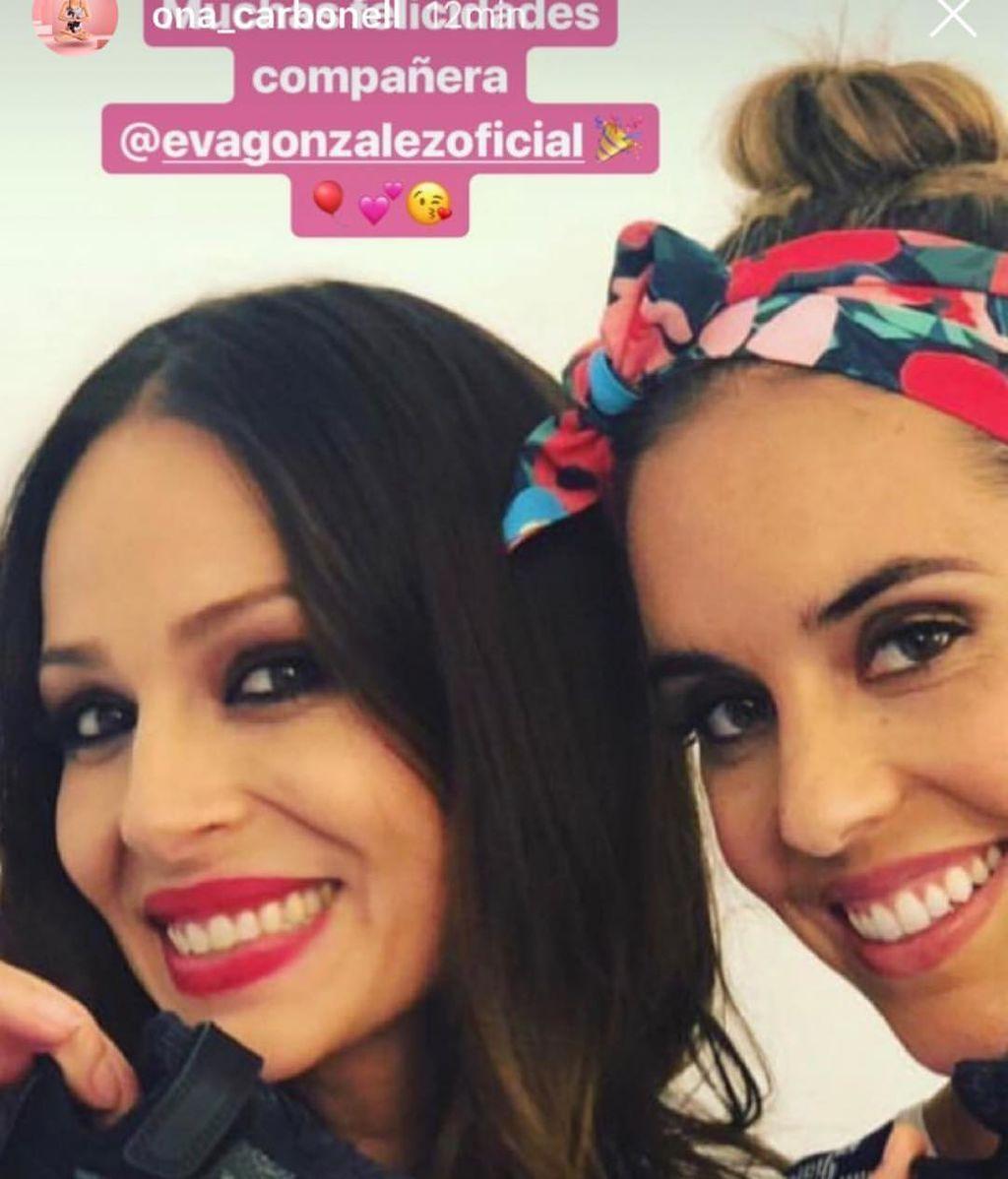 Eva González cumple