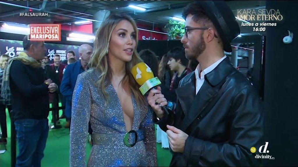"""Zanetti desmiente a Tablada: """"Nunca me habían advertido de que no podía sacar a Ella en mis redes"""""""