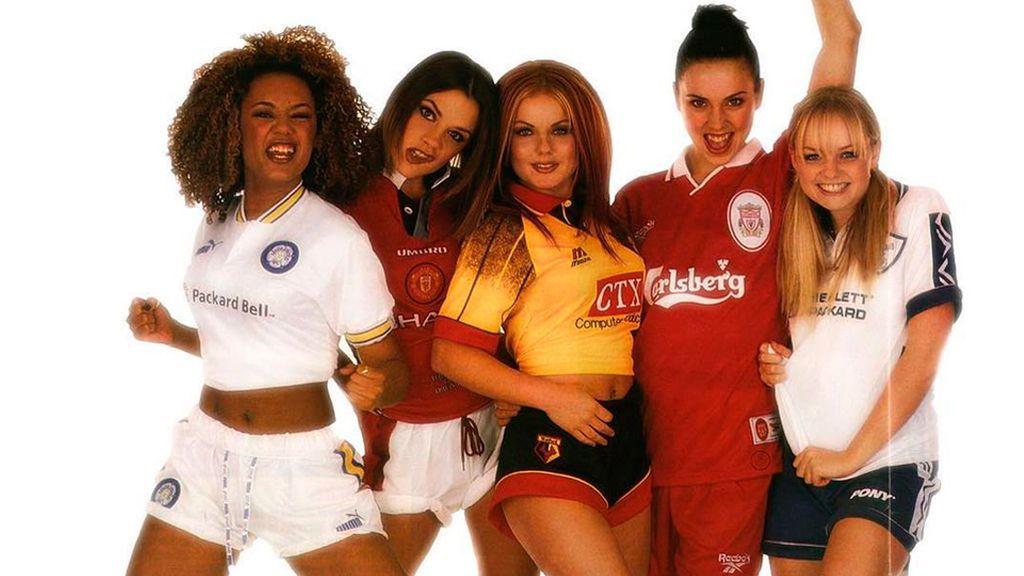 Si las 'Spice Girls' salieran de gira con las camisetas de sus equipos... ¿los reconocerías?