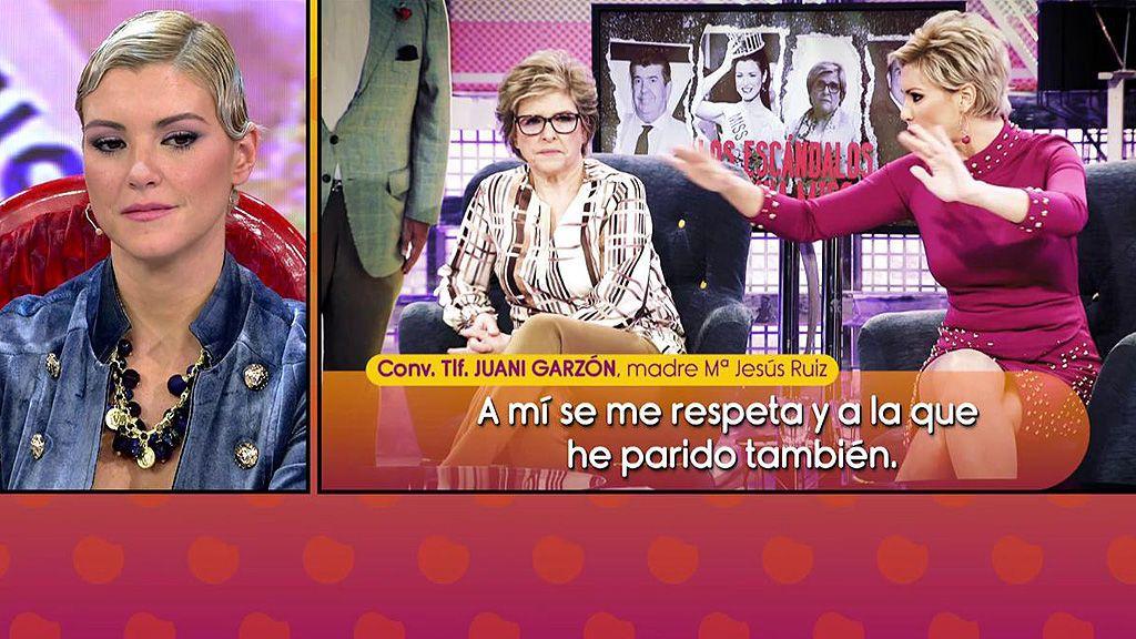 """La madre de María Jesús Ruiz pierde los nervios tras su último 'Deluxe': """"¡¿Hay derecho a eso?!"""""""