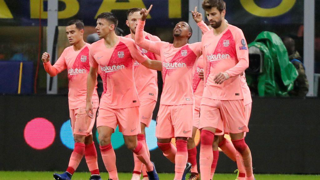 El Barça saca un empate de Milán (1-1) y cierra su pase a los octavos de la Champions