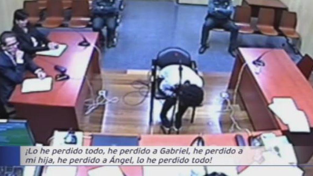 Ana Julia escenifica un angustioso relato en su declaración ante el juez
