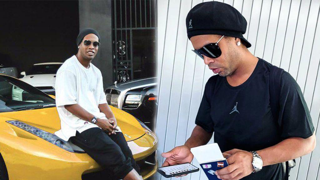Una mansión de 11.000 euros al día y coches de alta gama: la vida lujosa de Ronaldinho, en cifras
