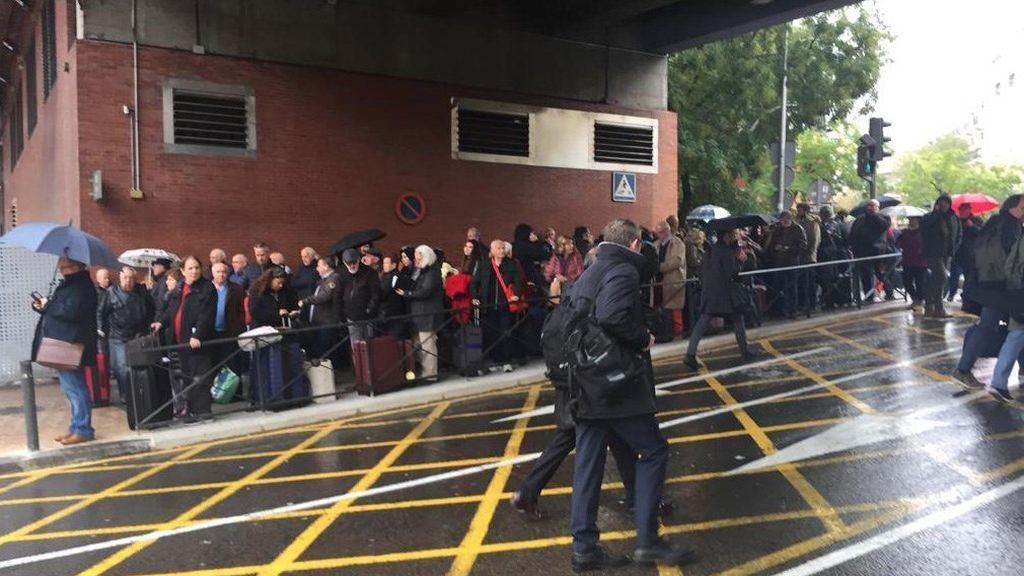 """""""Falsa alarma"""" de bomba en la estación de Atocha"""