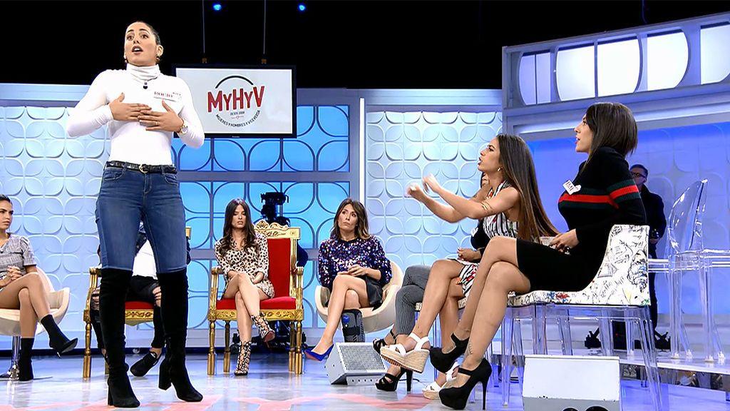 Toñi Moreno alucina con la discusión de las pretendientas de Álex