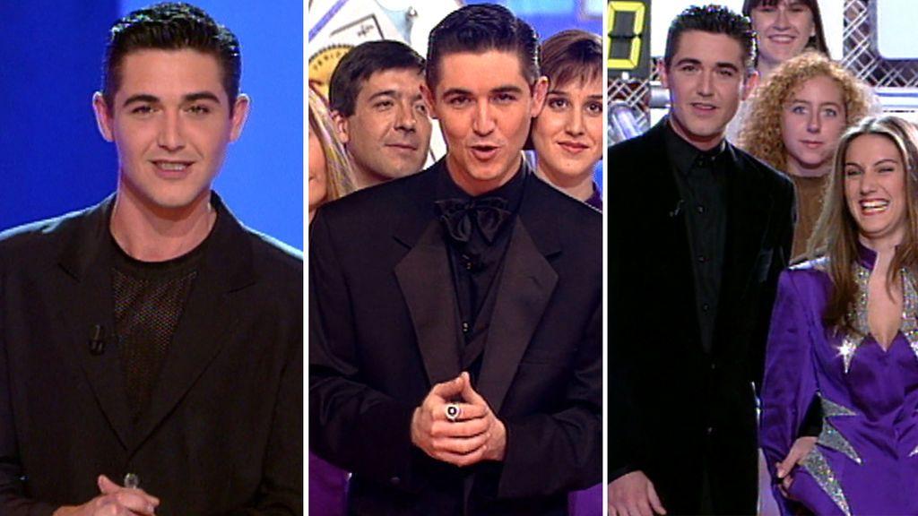 'Sí o no', el programa de Telecinco con el que Ángel Garó triunfó como presentador
