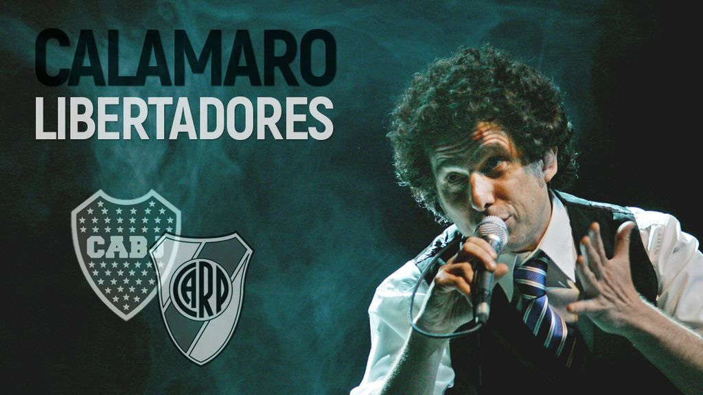 """Calamaro, en exclusiva, sobre la Libertadores: """"Que gane el mejor... o que gane el peor"""""""