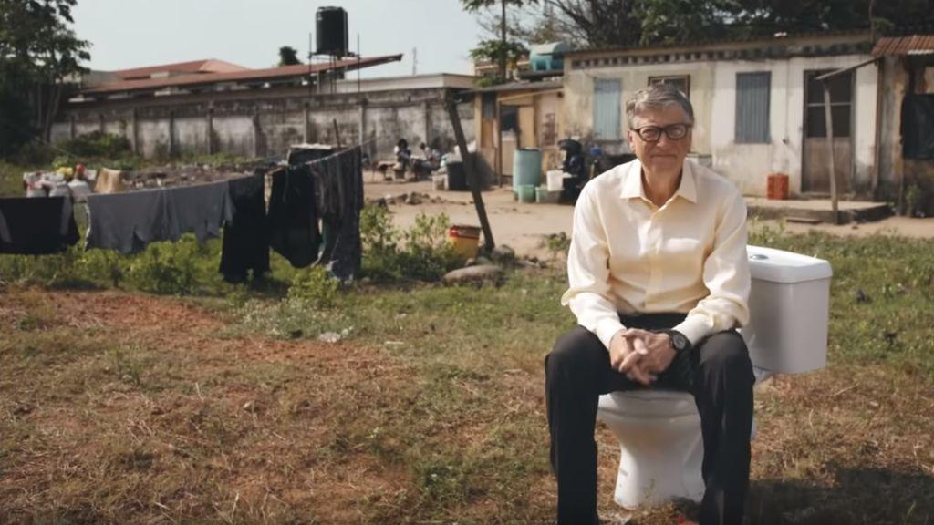 Nuestra caca va a salvar el mundo, según Bill Gates