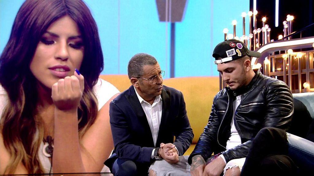 """¡Omar se marcha llorando de plató al escuchar a Isa Pantoja!: """"Ahora que lo estábamos arreglando..."""""""