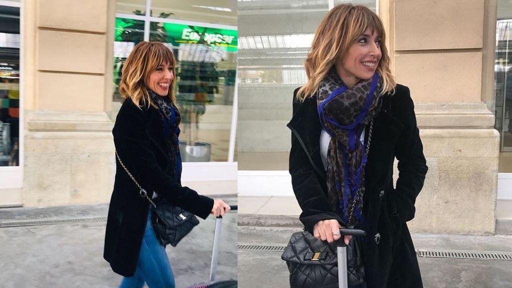 Emma García calienta motores para el gran estreno en 'Viva la vida'