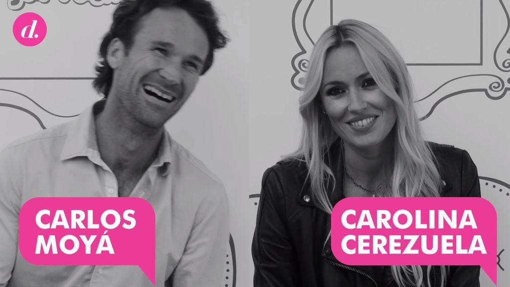 """Divinitest en pareja a Carolina Cerezuela y Carlos Moyà: """"Esto no lo verá ella, ¿no?"""""""