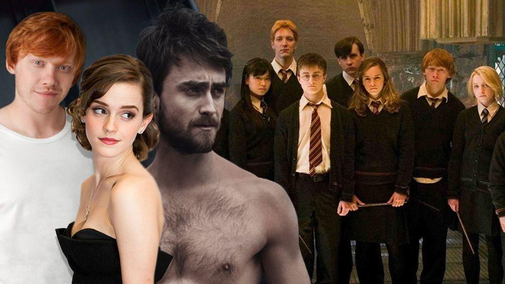 No es magia, es gimnasio: la transformación física de los actores de Harry Potter