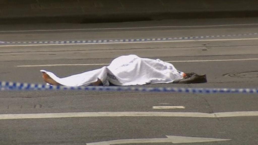 """Un terrorista apuñala a varias personas al grito de """"Alá es grande"""" en Melbourne"""