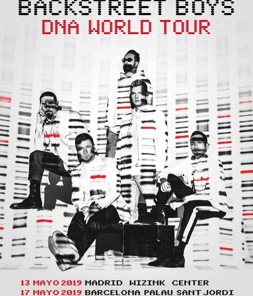 Backstreet Boys actuarán en Madrid y Barcelona con su nuevo disco 'DNA'