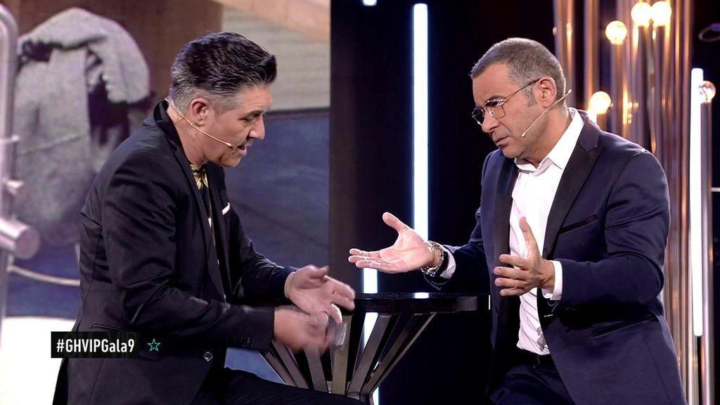 """Jorge Javier, a Ángel Garó tras la expulsión: """"Has sido tu peor enemigo"""""""