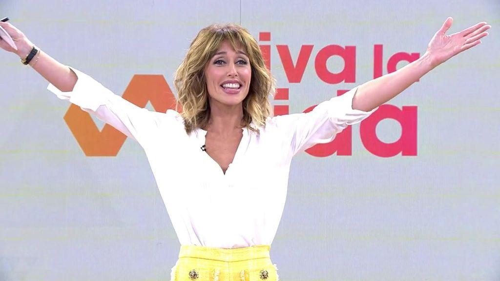 La tremenda y emocionante ovación a Emma García en su estreno en 'Viva la vida'