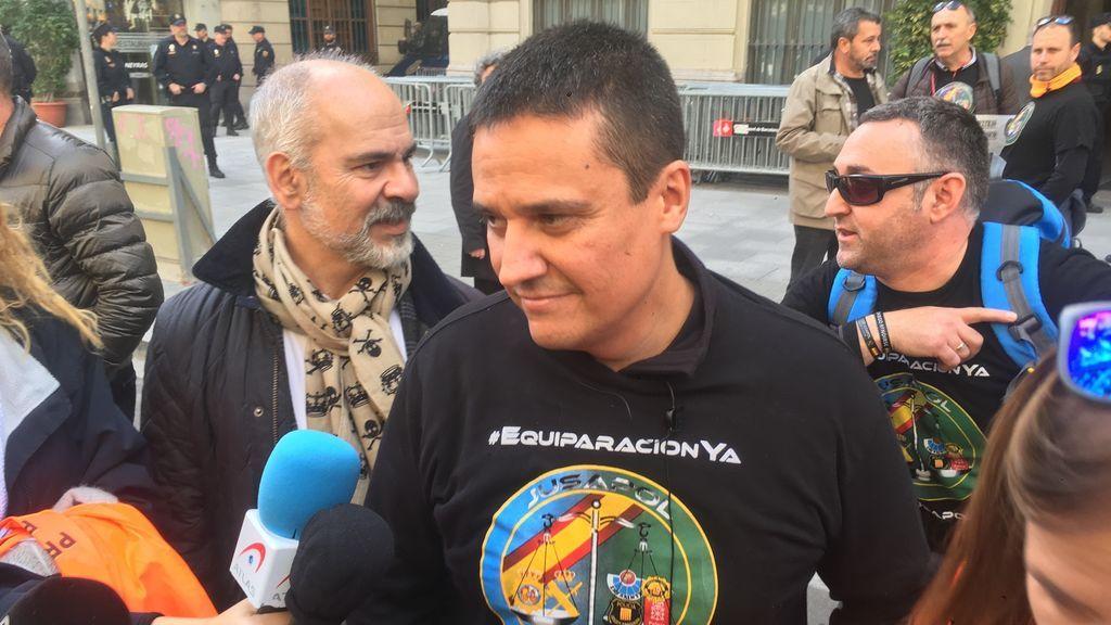 """Manifestación Jusapol: """"Queremos terminar lo que no pudimos el 29 de septiembre"""""""