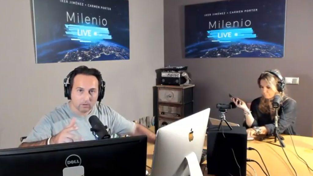 Milenio Live (10/11/2018) - Grabación de una voz psicofónica en directo