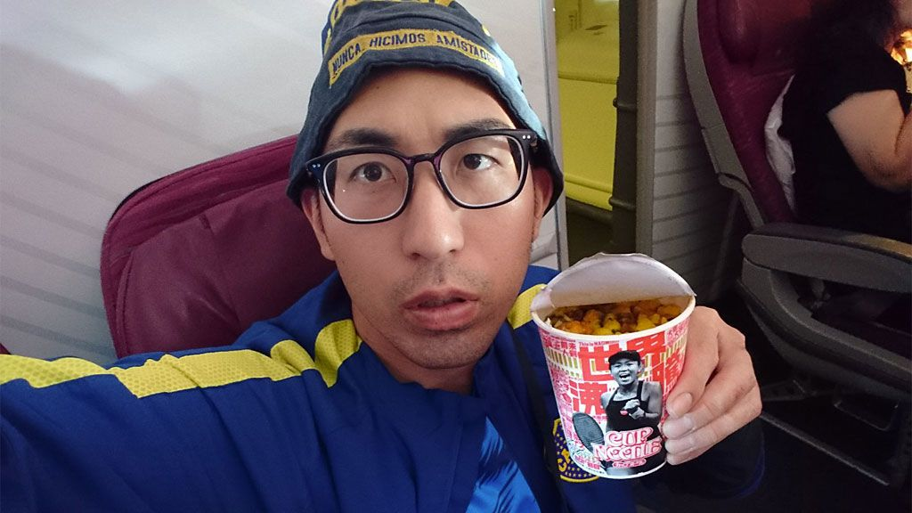 La odisea más loca de un japonés fanático de Boca: coge vacaciones, está más de 60 horas en un avión y se vuelve a Tokio sin ver la Libertadores