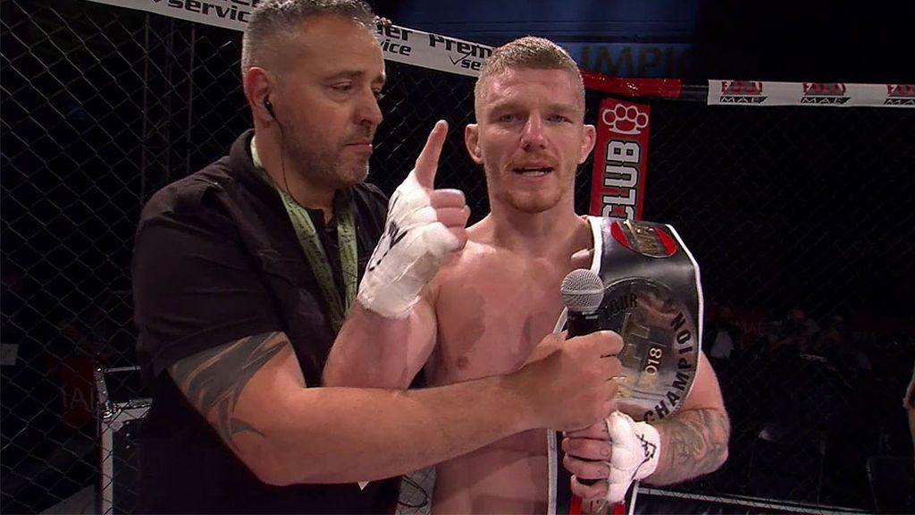 Damian Frankiewicz gana el World Fight Tour y firma con Bellator