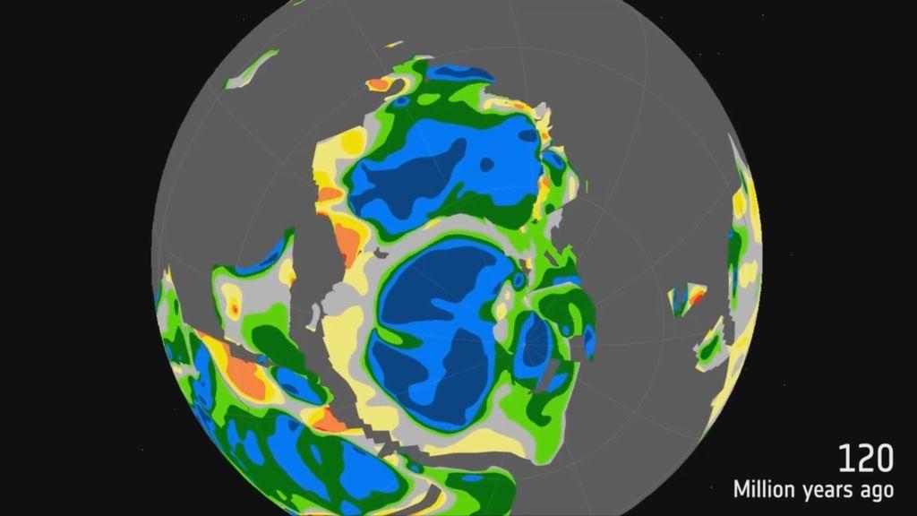 La sorprendente evolución  de la Antártida desde hace 200 millones de años